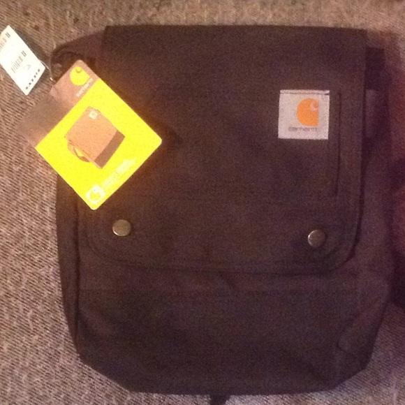 39bc679371b7 NWT Carhartt black crossbody purse